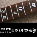 Skull Masks Fret Markers Inlay Sticker Decal Guitar